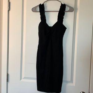 Ribbed stretch dress